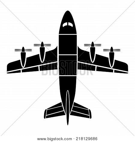 Aviation icon. Simple illustration of aviation vector icon for web