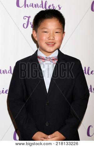 LOS ANGELES - DEC 10:  Alan Ko at the Chandler's Friends Toy Drive & Wrapping Party  at Los Angeles Ballet Academy on December 10, 2017 in Los Angeles, CA