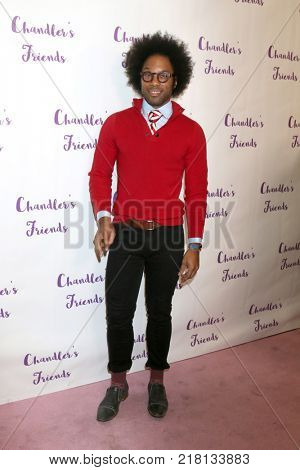 LOS ANGELES - DEC 10:  Johnathan Fernandez at the Chandler's Friends Toy Drive & Wrapping Party  at Los Angeles Ballet Academy on December 10, 2017 in Los Angeles, CA
