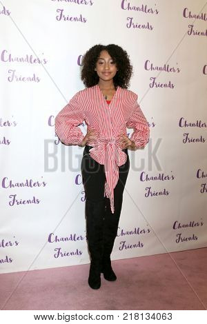 LOS ANGELES - DEC 10:  Lexi Underwood at the Chandler's Friends Toy Drive & Wrapping Party  at Los Angeles Ballet Academy on December 10, 2017 in Los Angeles, CA