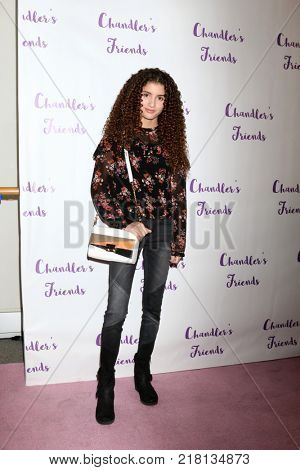 LOS ANGELES - DEC 10:  Isabella Revel at the Chandler's Friends Toy Drive & Wrapping Party  at Los Angeles Ballet Academy on December 10, 2017 in Los Angeles, CA