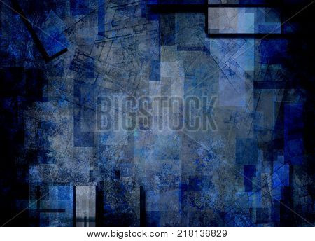 Muted Abstract Background. 3D rendering
