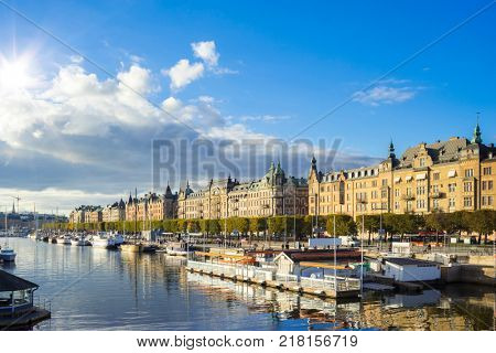 An image of a Stockholm capital city of Sweden