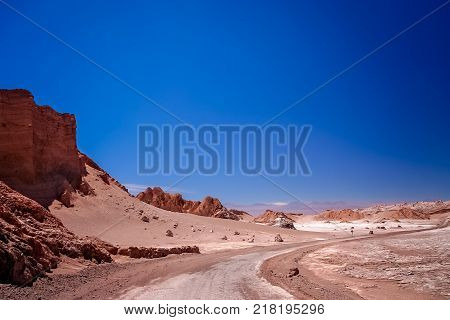 Road Through The Moon Valley