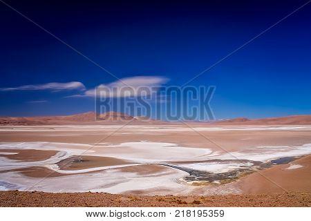 Salar Near The Moon Valley