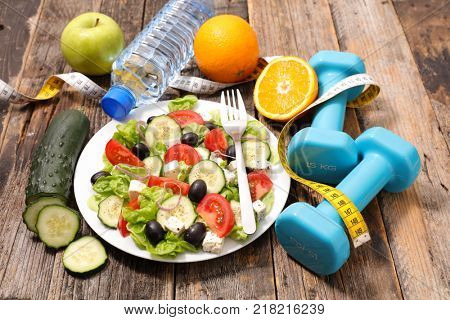 diet food , fitness concept