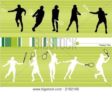 Tennis Vector Composition