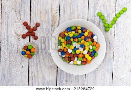 Wrong choice. Incorrect answer. Wrong answer. Composition of sweets