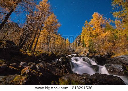Akkem Valley in Altai Mountains Natural Park
