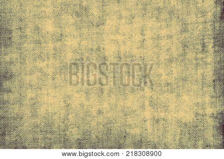 Beige smudge dirty worn dark obsolete unevenness edges vignette blank textile canvas plain surface background