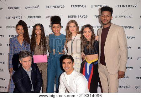 LOS ANGELES - DEC 13:  Cast at the