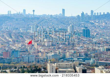 Ankara city view - Ankara, Turkey