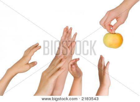 Hands Upwards