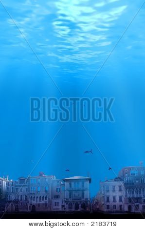 Global Warming City Under Water Contest