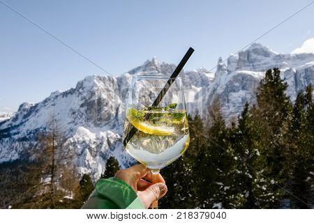 apres ski dolomites skiing alta badia dolomiti hugo drink lifestyle
