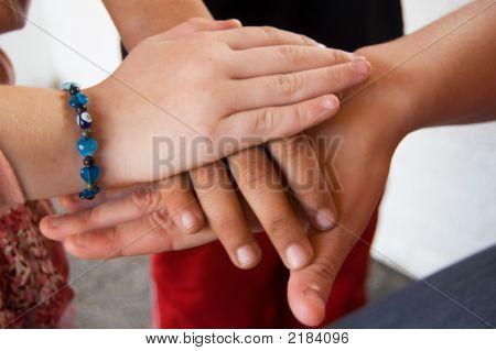 Hands As A Team