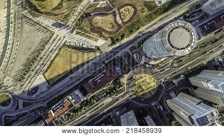 Mexico City is the capital and most populous city of Mexico. It is located in the Valley of Mexico  a large valley in the high plateaus at the center of Mexico