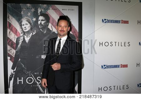 LOS ANGELES - DEC 14:  Scott Cooper at the