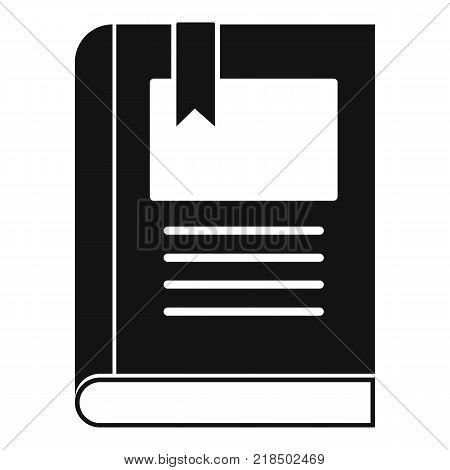 Bookstore icon. Simple illustration of bookstore vector icon for web