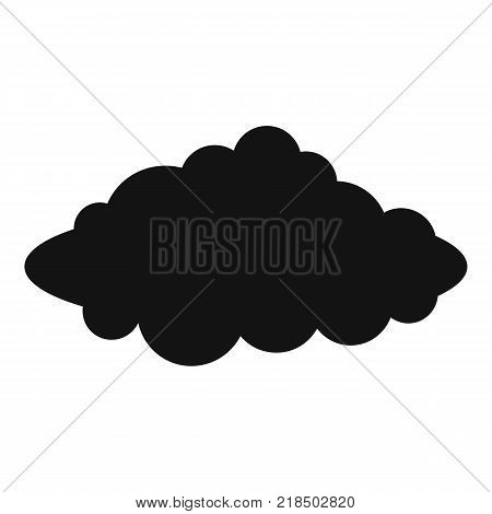 Weather forecast icon. Simple illustration of weather forecast vector icon for web