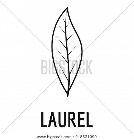 Laurel leaf icon. Simple illustration of laurel leaf vector icon for web