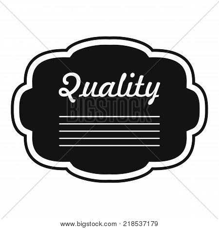 Grade label icon. Simple illustration of grade label vector icon for web