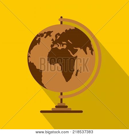 Geography icon. Flat illustration of geography vector icon for web