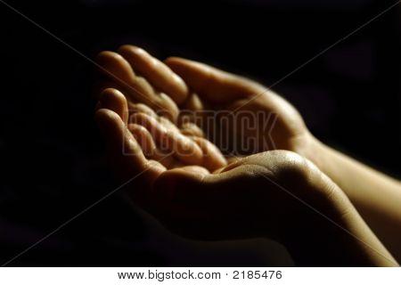 Поклоняясь руки