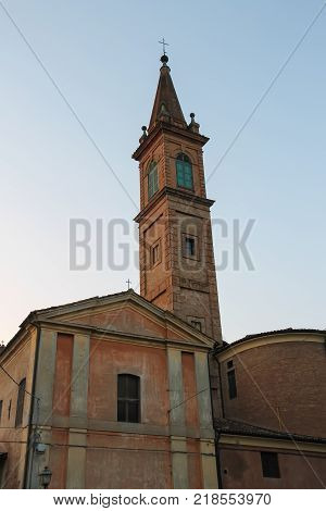 Church of St. Francis of Assisi in Spitamberto Italy