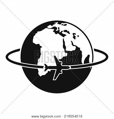 Worldwide icon. Simple illustration of worldwide vector icon for web