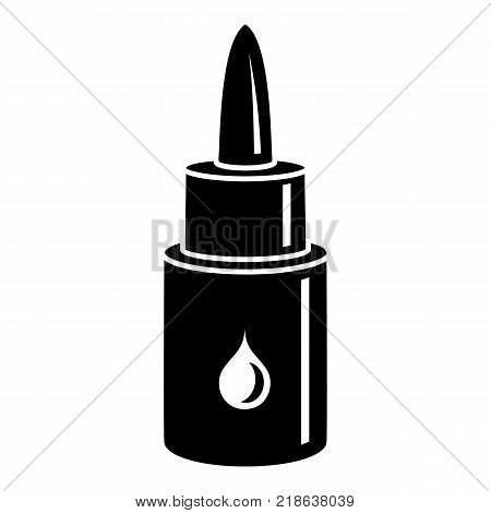 Eye drop icon. Simple illustration of eye drop vector icon for web