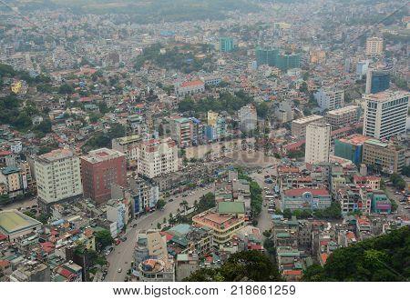 Cityscape Of Quang Ninh, Vietnam