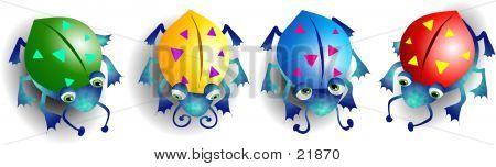 Colourful Bugs