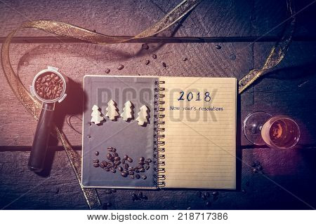 New 2018 Year Year's Resolutions
