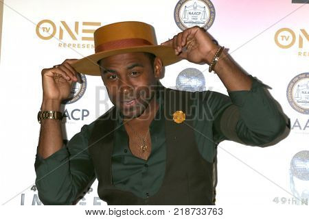 LOS ANGELES - DEC 16:  Major at the 49th NAACP Image Awards Nominees' Luncheon at Beverly Hilton Hotel on December 16, 2017 in Beverly Hills, CA