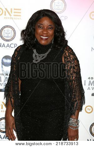 LOS ANGELES - DEC 16:  Loretta Devine at the 49th NAACP Image Awards Nominees' Luncheon at Beverly Hilton Hotel on December 16, 2017 in Beverly Hills, CA