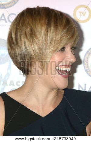 LOS ANGELES - DEC 16:  Lauren Morelli at the 49th NAACP Image Awards Nominees' Luncheon at Beverly Hilton Hotel on December 16, 2017 in Beverly Hills, CA