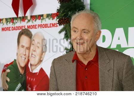 John Lithgow at the Los Angeles premiere of 'Daddy's Home 2' held at the Regency Village Theatre in Westwood, USA on November 5, 2017.