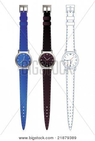 editable watch design