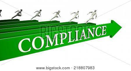 Compliance Opportunities as a Business Concept Art 3D Render