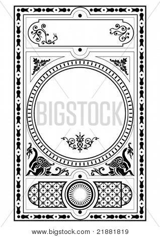 victorian gothic decorative design elements