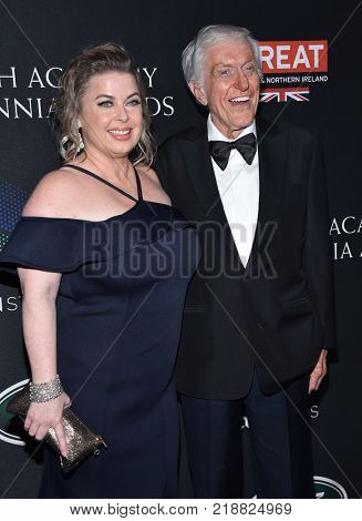 LOS ANGELES - OCT 27:  Dick Van Dyke and Arlene Silver arrives for the BAFTA Brittania Awards 2017 on October 27, 2017 in Beverly Hills, CA