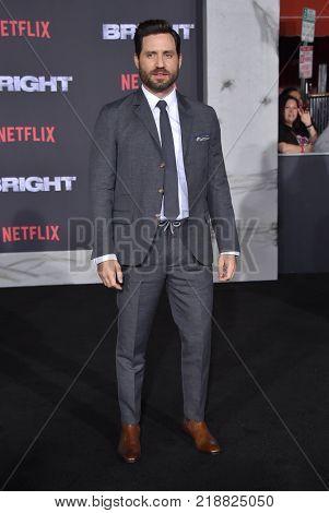 LOS ANGELES - DEC 13:  Edgar Ramirez arrives for the