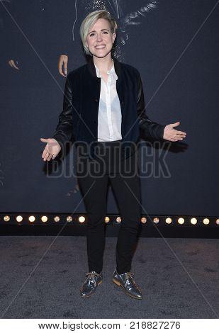 LOS ANGELES - DEC 12:  Hannah Hart arrives for the '