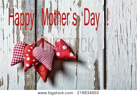 Happy Mother's Day Hearts. Mother's Day 26 May Mother s day. close up