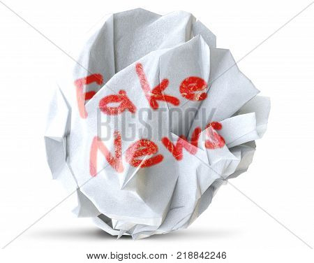 fake news concept of propoganda and disinformation