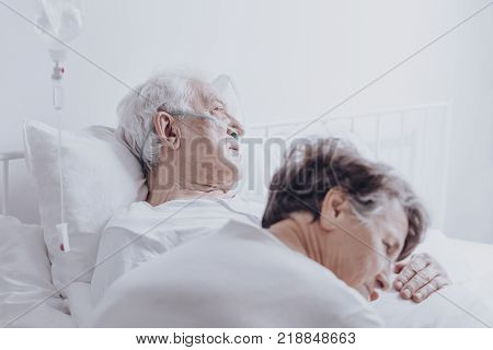 Senior Man Sick Cancer Image & Photo (Free Trial) | Bigstock