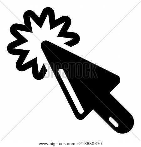 Cursor technology icon. Simple illustration of cursor technology vector icon for web