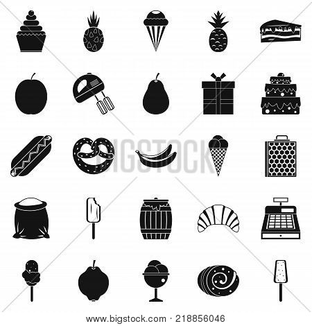 Tucker icons set. Simple set of 25 tucker vector icons for web isolated on white background
