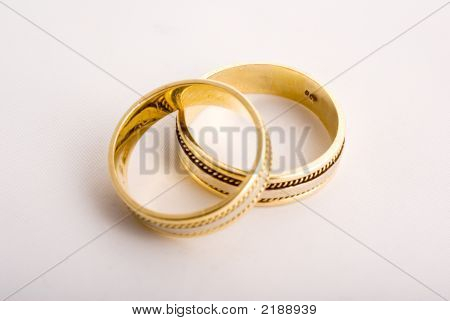 Wedding Rings Close-Up